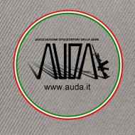 ~ cappellino bicolore con logo in 3d e bandiera (logo per capi chiari)
