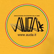 ~ maglietta con logo in 3d e bandiera (logo per capi chiari)