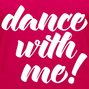 Dance With Me Topper - Premium singlet for kvinner