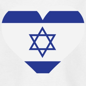 A Heart for Israel Shirts - Kids' T-Shirt