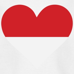 A heart for Indonesia Shirts - Teenage T-shirt