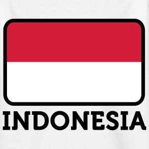 National flag of Indonesia Shirts - Teenage T-shirt
