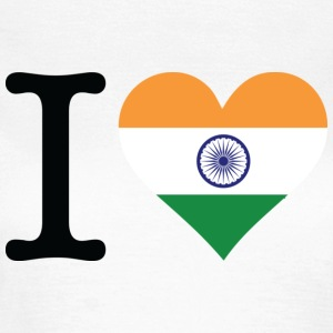 I Love India T-skjorter - T-skjorte for kvinner