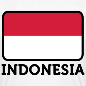 National flag of Indonesia T-Shirts - Men's Organic T-shirt