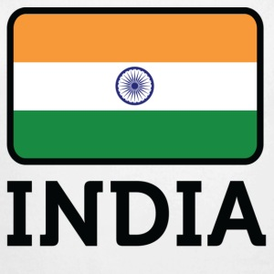 National Flag of India Babybody - Økologisk langermet baby-body