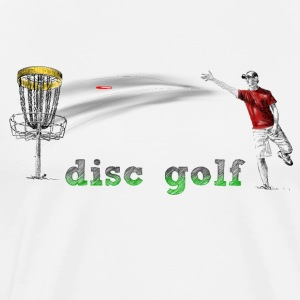disc golf T-Shirts - Men's Premium T-Shirt