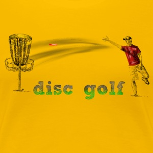 disc golf T-Shirts - Frauen Premium T-Shirt