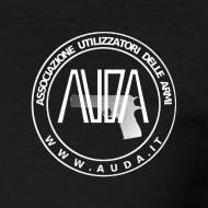 ~ maglietta con logo AUDA e colt 1911 (per capi scuri)