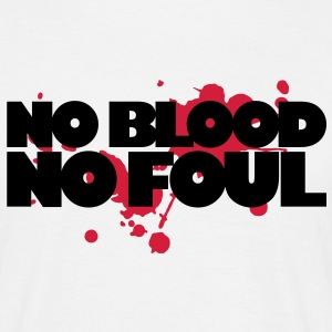 Basketball - No Blood No Foul - Men's T-Shirt