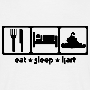 Karting - Eat Sleep Kart - Men's T-Shirt