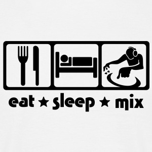 DJ Eat Sleep Mix - Men's T-Shirt