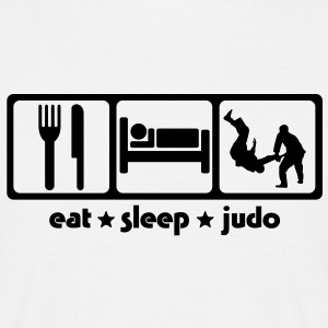 Martial Arts Eat Sleep Judo - Men's T-Shirt