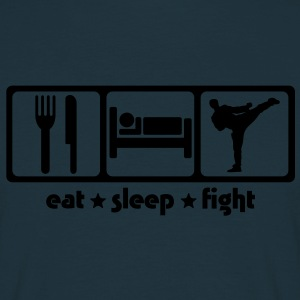 Martial Arts Eat Sleep Fight - Men's T-Shirt
