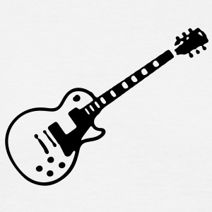 Les Paul Guitar - Men's T-Shirt