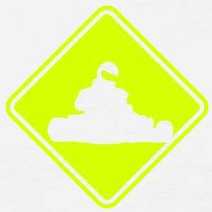 kt04 karting roadsign converted - Men's T-Shirt