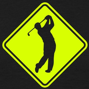 go04 golf roadsign converted - Men's T-Shirt