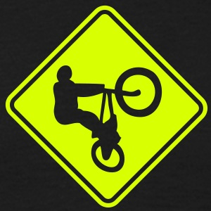 bm03 bmx roadsign converted - Men's T-Shirt
