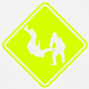 ma04e judo roadsign converted - Men's T-Shirt