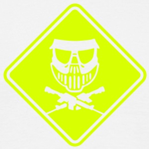 pa04 paintball roadsign converted - Men's T-Shirt
