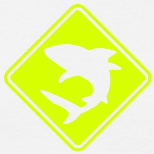 po10 poker shark roadsign converted - Men's T-Shirt