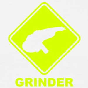 po12 roadsign grinder converted - Men's T-Shirt