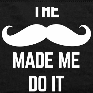 Mustache Made Me Do It  Torby i plecaki - Torba retro