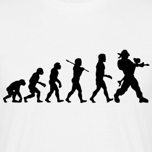 pa01 paintball evolution - Men's T-Shirt