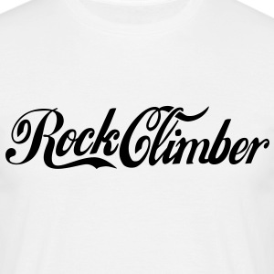 rc11 rock climber cola logo - Men's T-Shirt