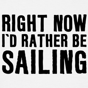 sa03 rather be sailing - Men's T-Shirt