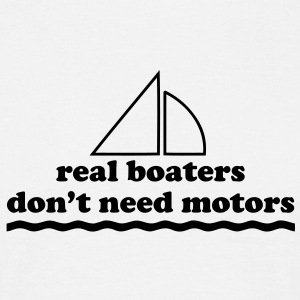 sa11 real boaters - Men's T-Shirt