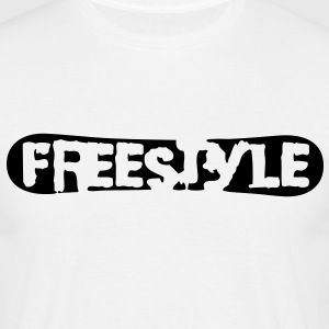 sb10 freestyle snowboard logo - Men's T-Shirt
