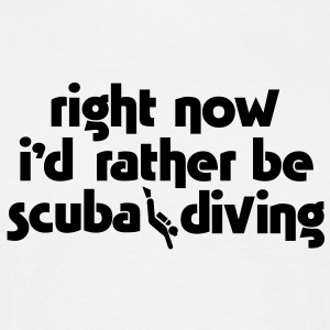 sc03 right now scuba - Men's T-Shirt