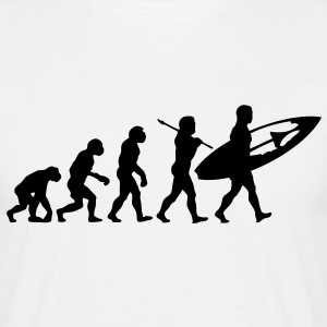 su01 surfer evolution - Men's T-Shirt