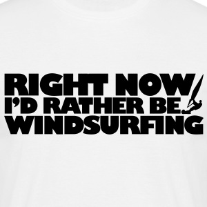 ws03 windsurf right now - Men's T-Shirt