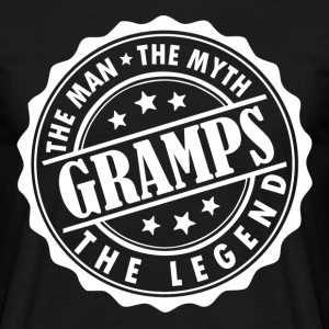 Gramps-The Man The Myth The Legend T-Shirts - Men's T-Shirt