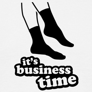 its business time socks - Men's T-Shirt