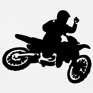 motocross jump - Men's T-Shirt