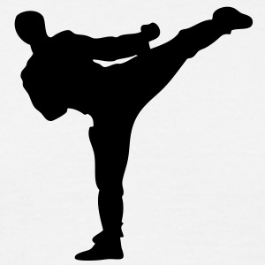 karate kick - Men's T-Shirt