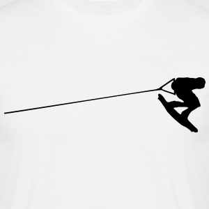 wakeboarder - Men's T-Shirt