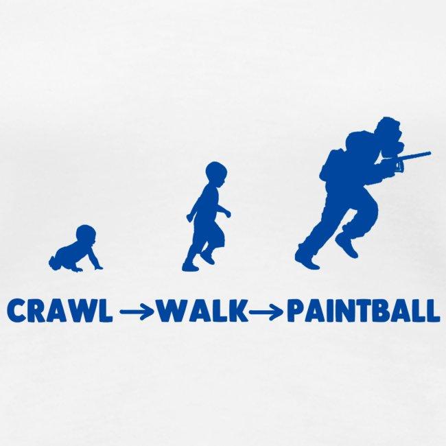 Crawl, walk, paintball