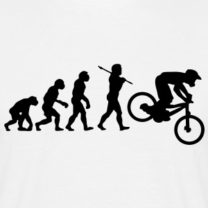NEW MTB DOWNHILL MOUNTAIN BIKE EVOLU - Men's T-Shirt