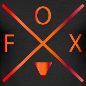 fox T-shirts - Herre Slim Fit T-Shirt