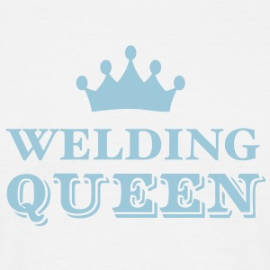 Welding Queen - Men's T-Shirt