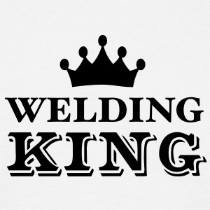 Welding King - Men's T-Shirt