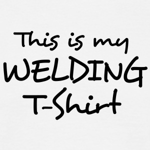 This is my WELDING T-Shirt - Men's T-Shirt