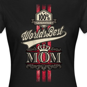 Worlds best Mom original RAHMENLOS® - Frauen T-Shirt