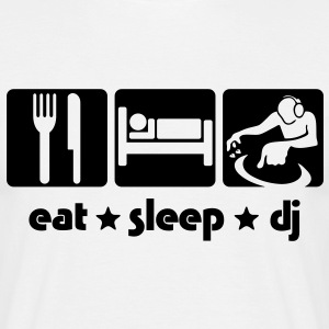 EAT SLEEP DJ - Men's T-Shirt