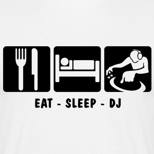 EAT SLEEP DJ 3 - Men's T-Shirt