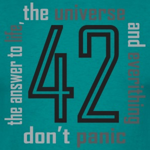 the hitchhiker's guide to the galaxy - Men's T-Shirt