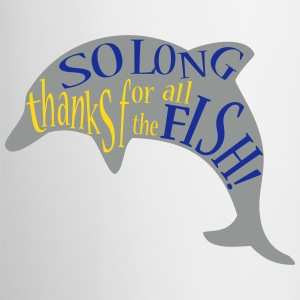thanks for all the fish! - Contrasting Mug